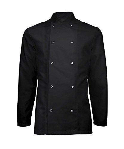 chef-giacca-cappotto-da-nero-con-chiusura-a-bottone-ristorante-abbigliamento-unisex-ins16-black-xl