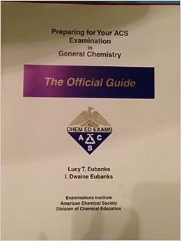 Acs Inorganic Chemistry Exam Study Guide - examget.net
