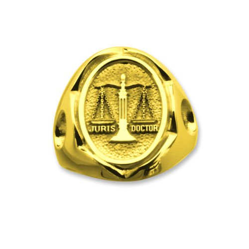 Women Lawyer 14K Professional Ring