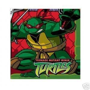 Teenage Mutant Ninja Turtle Dessert Napkins - 1