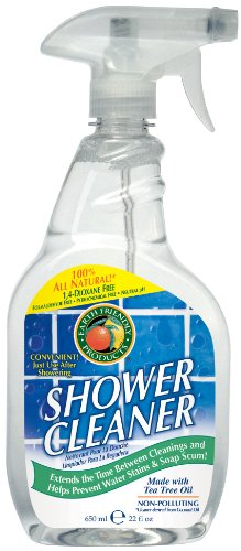 Earth Friendly Products Shower Cleaner with Tea Tree Oil, 22-Ounce (Pack of 2)