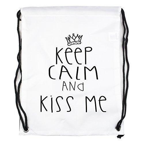 keep-calm-and-kiss-me-motiv-auf-gymbag-turnbeutel-sportbeutel-stylisches-modeaccessoire-tasche-unise