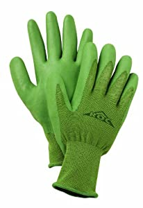 Bamboo Glove with Nitrile Palm - Womens Medium