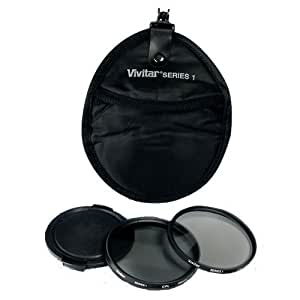 Amazon.com : Vivitar FK252 52mm 5-Piece Camera Lens Filter Sets