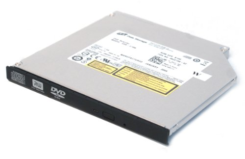 Genuine Dell Hitachi Hl Data Storage Xr712 Hp303 Gsa-U10N Ide Black Slim Internal 8X Dvd±Rw Dvd-Rw Dvd+Rw Burner Optical Drive For Pr09S Media Base, Latitude Xt, Xt2 Tablet Laptop, Latitude D420, D430, D430N, Laptop Notebooks Compatible Part Numbers: Xr71