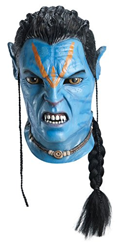 Avatar Jake Sully Latex Deluxe Costume Adult Mask