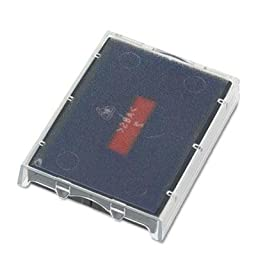 Identity Group - 3 Pack - T5470 Dater Replacement Ink Pad 1 5/8 X 2 1/2 Red/Blue \