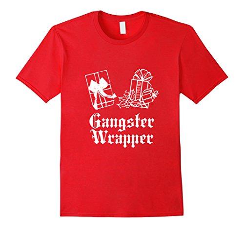 Gangster-Wrapper-Christmas-T-Shirt