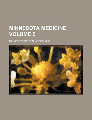 Minnesota medicine Volume 5