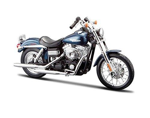 FXDBI-Dyna-Street-Bob-Harley-Davidson-Motorcycle-Blue-Maisto-HD-Custom-32325BIKE-112-Scale-Diecast-Model-Toy-Motorcycle-by-Maisto