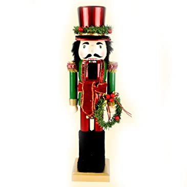 Nutcracker With Wreath