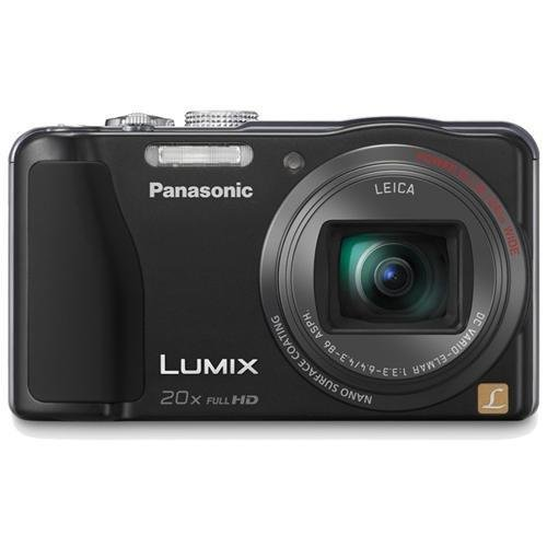 41NmbMuR07L Panasonic Lumix ZS20 14.1 MP High Sensitivity MOS Digital Camera with 20x Optical Zoom (Black)