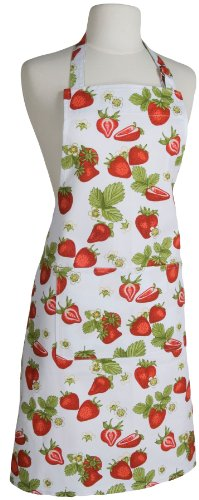 Now Designs Basic Apron, Strawberries