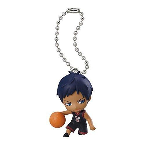 Bandai Kuroko No Basket Swing Figure Keychain~All star~Daiki Aomine - 1
