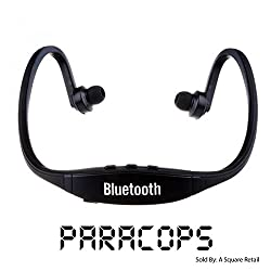 Paracops Sports Stereo Wireless Bluetooth 3.0 Headset Earphone Headphone For All Phones