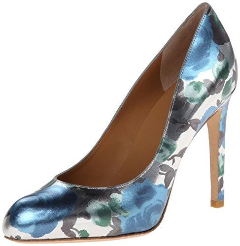Marc By Marc Jacobs Women'S Floral Dress Sandal, Blue Sky Multi, 39.5 Eu/9.5 M Us
