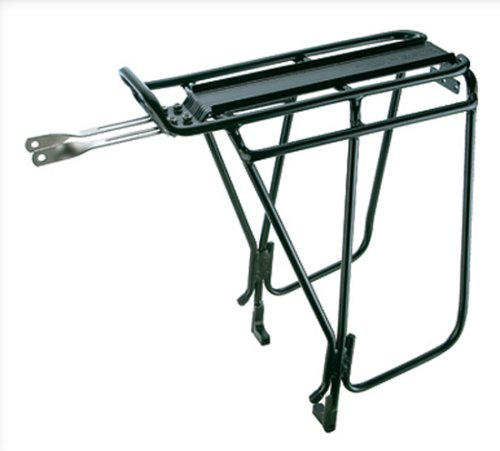 Buy Low Price Topeak Super Tourist Tubular Bicycle Trunk Rack DX with Side Bar for Disc Brake Bikes (TA2036B (10))