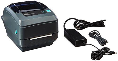 Zebra GK420t Monochrome Desktop Direct Thermal/Thermal Transfer Label Printer with Fast Ethernet Technology, 5 in/s Print Speed, 203 dpi Print Resolution, 4.09