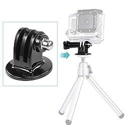 Neewer® Black Tripod Mount Adapter for GoPro Hero 4 3+ 3 2 1 (1 Pack)