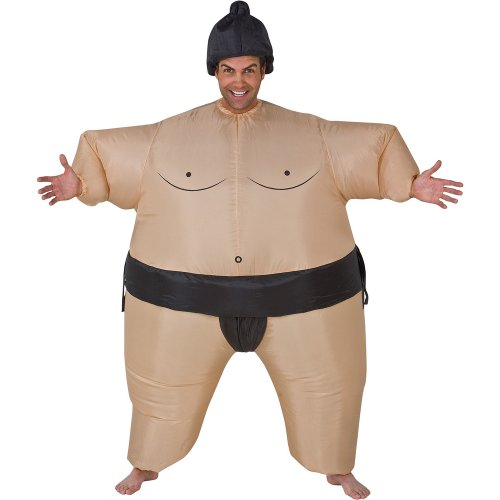 Gemmy Unisex Inflatable Sumo Adult Costume