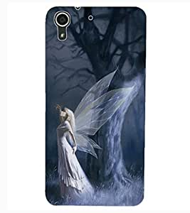 ColourCraft Angel Design Back Case Cover for HTC DESIRE 626