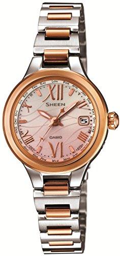 [カシオ]CASIO 腕時計 SHEEN Voyage Series 世界6局電波対応ソーラー SHW-1700SG-4AJF レディース