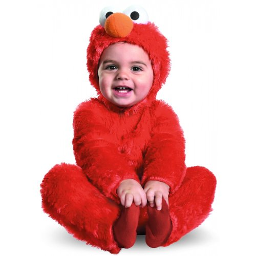 Elmo Comfy Fur Costume Toddler 12-18 Months (1 per package)