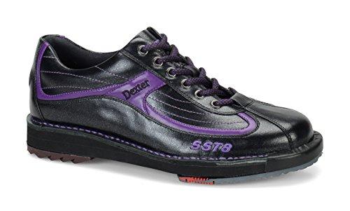 Dexter SST 8 LE Mens Bowling Shoes Black Purple (Size 8.5)