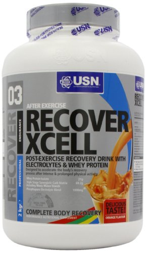 USN Recover Xcell 2000 g Orange Post-Workout Recovery Drink Powder