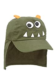 Pure Cotton Monster Kepi Hat