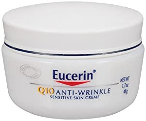 Eucerin Q10 Anti-Wrinkle Sensitive Skin Creme, 1.7 Ounce