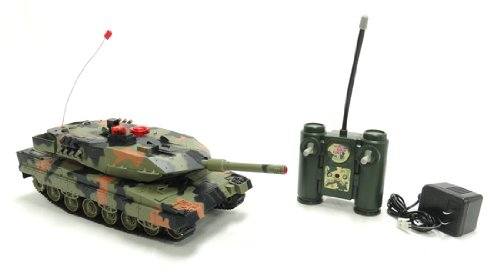 Battle RC Tank w/ Sound and Lights
