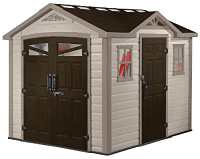 Keter Orion Storage Shed 8 by 9-Feet 211979 (DROPSHIP - OL)