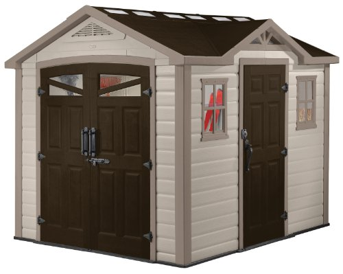 Loren outdoor shed for portable generator for Portable outside storage sheds