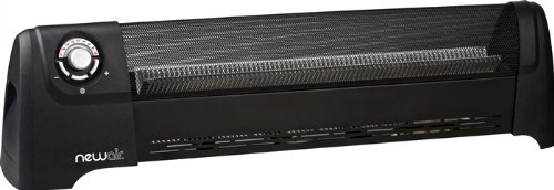 NewAir AH-600 1500W Low Profile Baseboard Heater w/ 5 Heat Settings