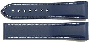 Omega Planet Ocean 22mm Blue Rubber Strap 98000376