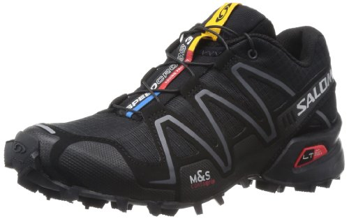 Salomon Speedcross 3 Women Trail Laufschuhe black-black-silver metallic-x - 36