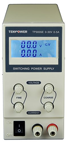 Tekpower TP3005E DC Adjustable Switching Power Supply 30V 5A Digital Display (Dc Variable Power Supply compare prices)