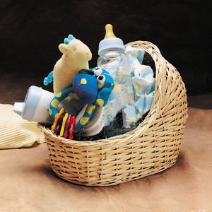 Willow Bassinet Baby Gift Basket