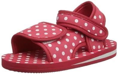 Playshoes EVA Sandale Punkte 171785, Unisex-Kinder Sandalen, Rot (original 900), EU 20/21