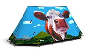 GlastoCows 2-Person Tent by FieldCandy