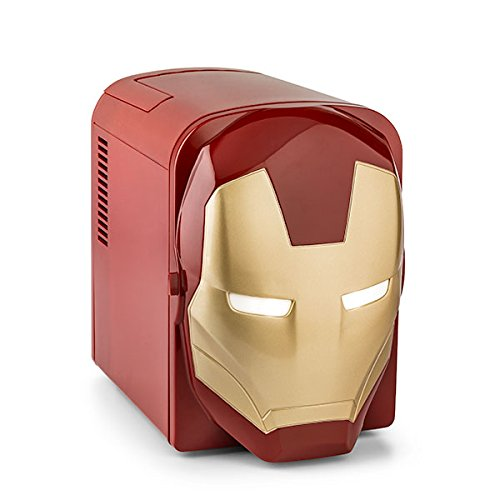 Marvel Iron Man 4L Mini Refrigerator (Mini Fridge 4 Liter compare prices)