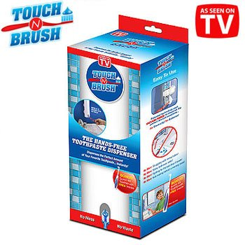 Touch N Brush Hands Free Toothpaste Dispenser And Toothbrush