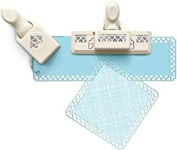Martha Stewart Crafts Around The Page Punch, Double Hearts Punch Set