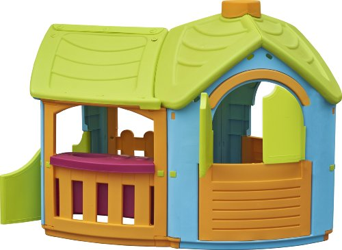 Tot's Play Villa Playhouse with Extension