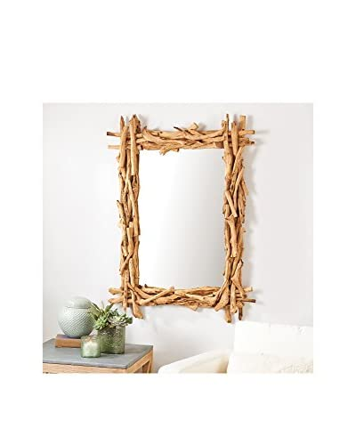 Driftwood Wall Mirror As You See