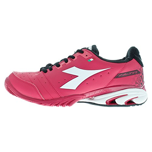 Women`s S Star K III AG Tennis Shoes Bright Rose and White