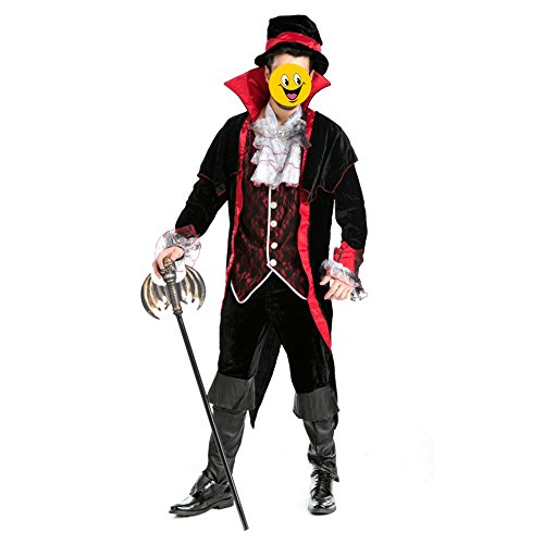 TopTie Vampire Costume, Adult Men's Costume