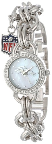 Game Time Women's NFL-CHM-DEN Charm NFL Series Denver Broncos 3-Hand Analog Watch at Amazon.com