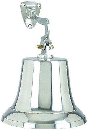 Benzara 30530 Aluminum Bell with Beautiful Wall Bracket